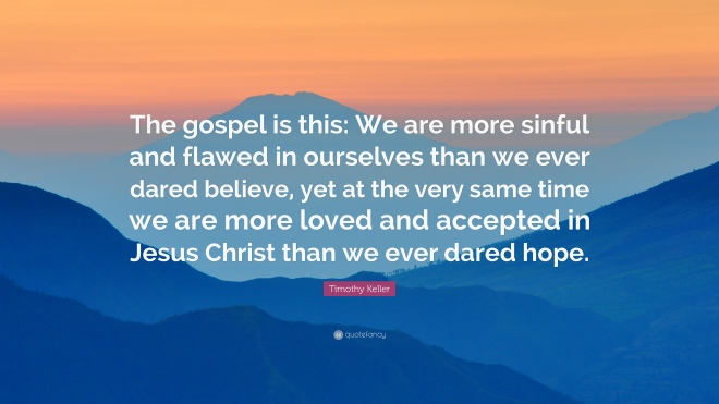 Keller on Gospel